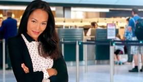 Hôtesse d'accueil aéroportuaire